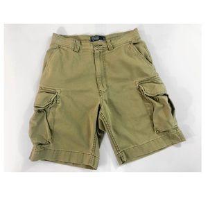 Men's Polo Ralph Lauren Khaki Cargo Shorts
